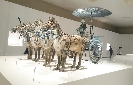 1号铜车马(复制)(原品=秦朝・公元前3世纪) 秦始皇帝陵博物院