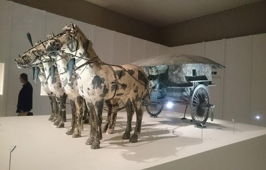 2号铜车马(复制)(原品=秦朝・公元前3世纪) 秦始皇帝陵博物院