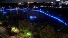 夜のアートイベント・シリーズ『上野夜公園』 第0夜「ミナモミラー」 @ 上野恩賜公園 | 台東区 | 東京都 | 日本