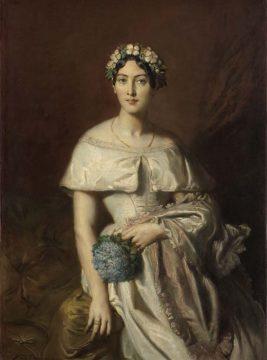 《カバリュス嬢の肖像》