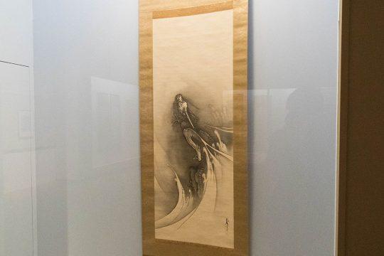 橋本雅邦 《昇龍図》 明治時代(19世紀) 埼玉・山崎美術館蔵