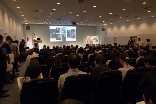 記者発表会の舞台となったのは、六本木一丁目のスペイン大使館
