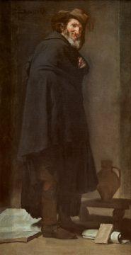ディエゴ・ベラスケス《メニッポス》1638年頃 マドリード、プラド美術館蔵 © Museo Nacional del Prado