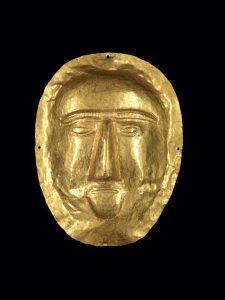 「葬送用マスク」 1世紀、テル・アッザーイル出土 サウジアラビア国立博物館所蔵