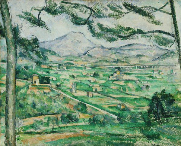 ポール・セザンヌ《サント=ヴィクトワール山》1886-87年 油彩、カンヴァス 59.7×72.4cm  フィリップス・コレクション、ワシントンD.C.The Phillips Collection, Washington, D. C.