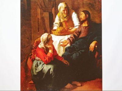 「マルタとマリアの家のキリスト」 1654-1656年頃 スコットランド・ナショナル・ギャラリー