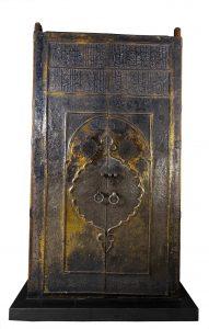 「カァバ神殿の扉」 1635年~1636年 サウジアラビア国立博物館所蔵