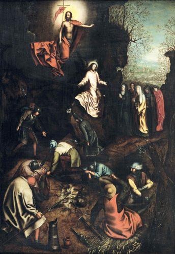 ピーテル・ブリューゲル1世と工房 《キリストの復活》1563年頃 Private Collection, Belgium